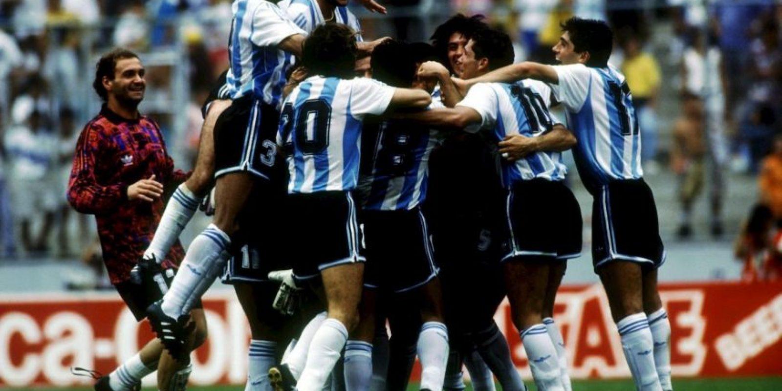 Copa América 1993: Argentina 2-1 México Foto:Getty Images
