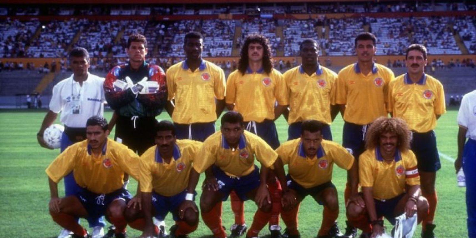 Colombia en 1993. Foto:Getty Images