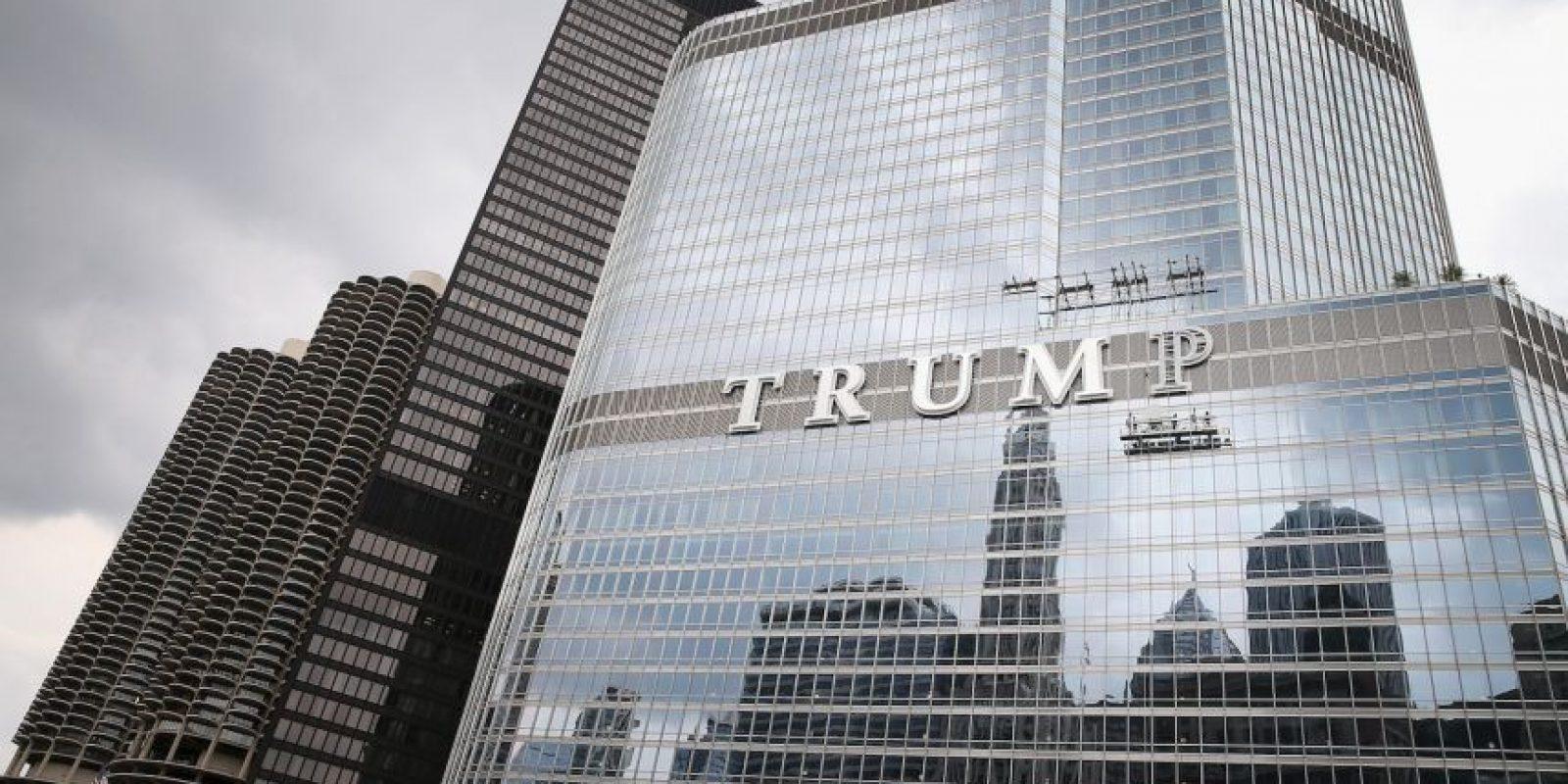 La compañía producía una cerveza artesanal especial para un restaurante de la Torre Trump de Chicago. Foto:Getty Images