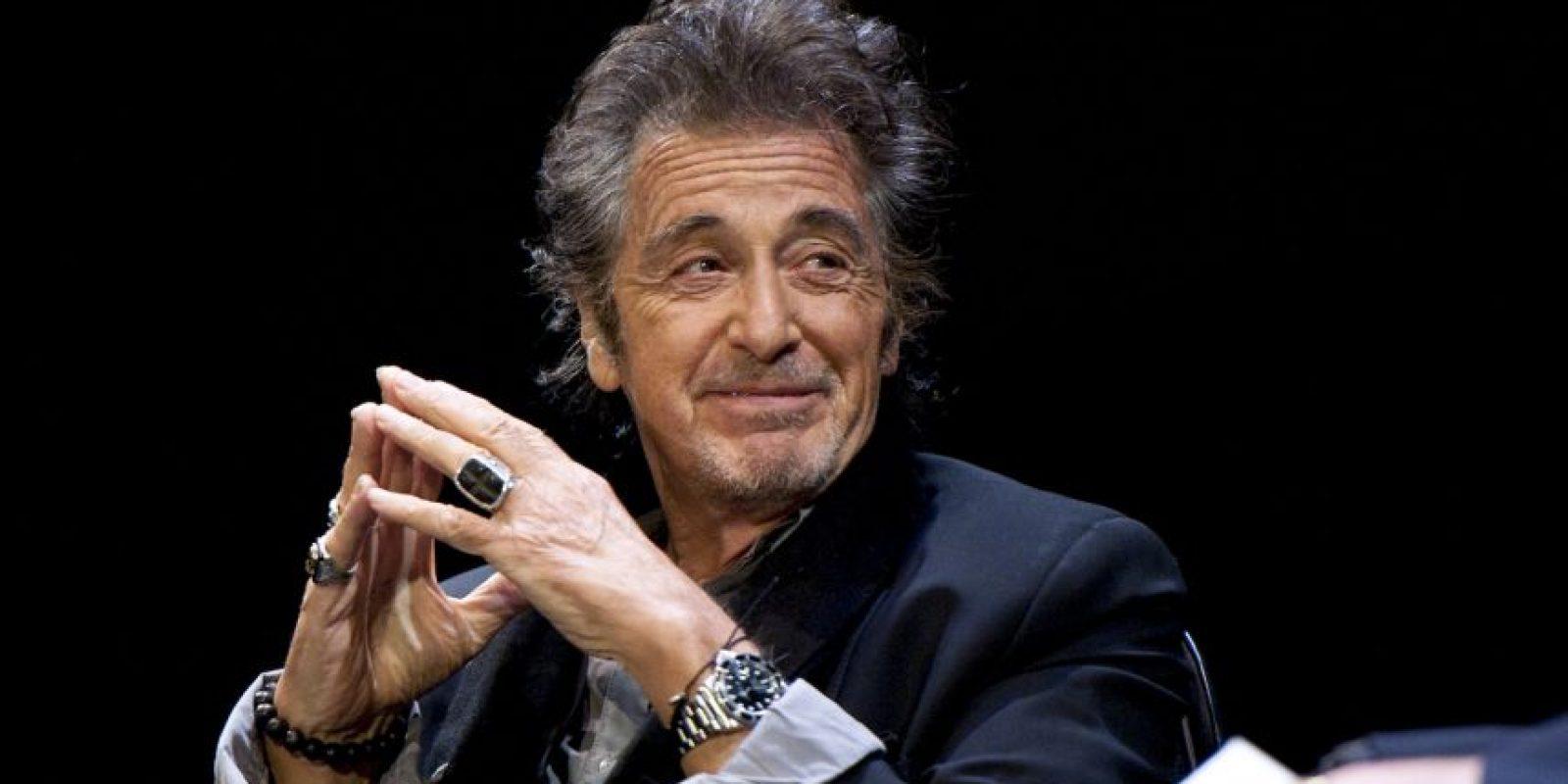 Al Pacino es un actor estadounidense. Foto:Getty Images