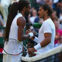 Brown ya había derrotado una vez a Nadal, fue en 2014 en Halle. Foto:Getty Images