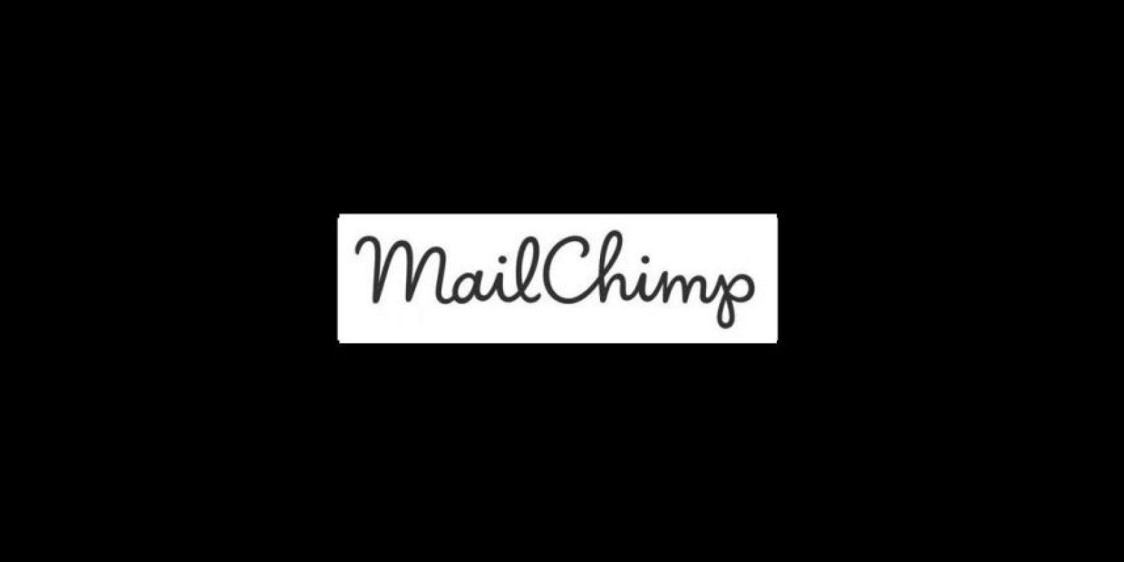 Actual. Este logo ganó elegancia y claridad Foto:MailChimp