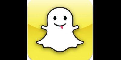 Diseño original de Snapchat, la red social más popular entre los jóvenes Foto:Snapchat