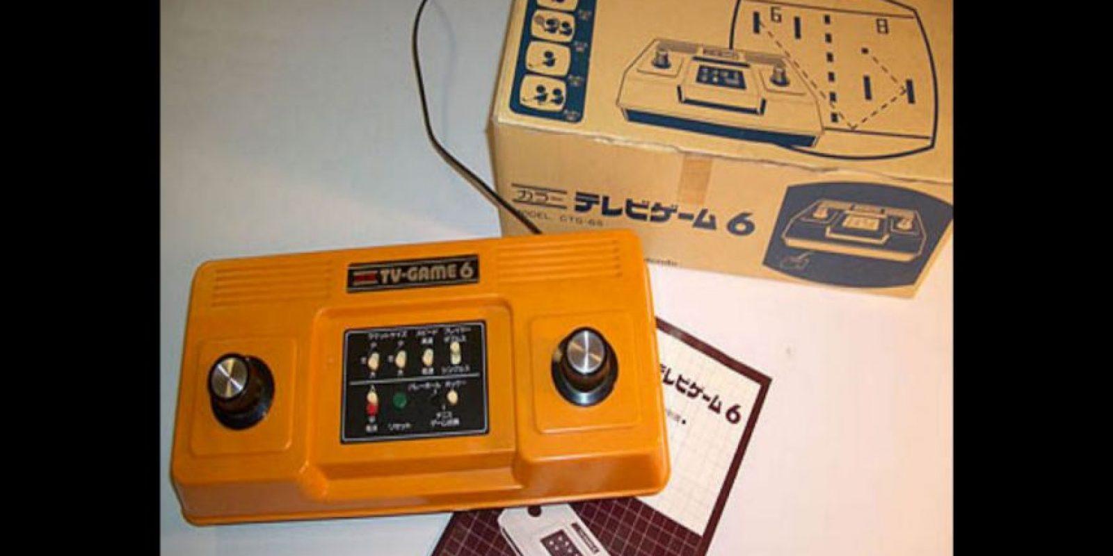 TV Game 6 solo estuvo disponible en Japón Foto:Nintendo