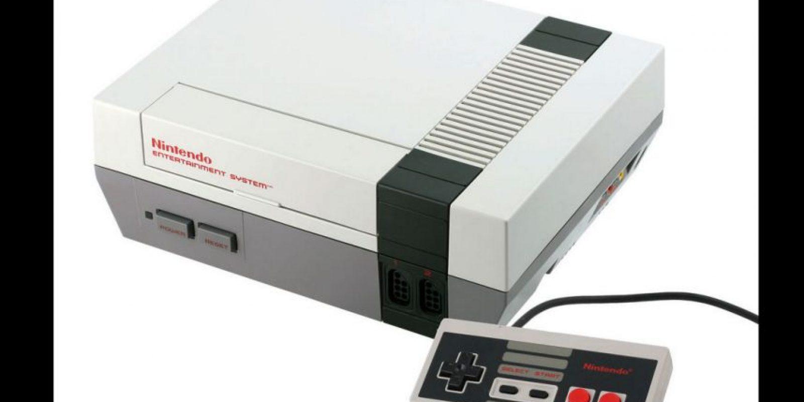 """El NES obtuvo gran popularidad sobre todo por los juegos de """"Mario Bros"""" Foto:Nintendo"""