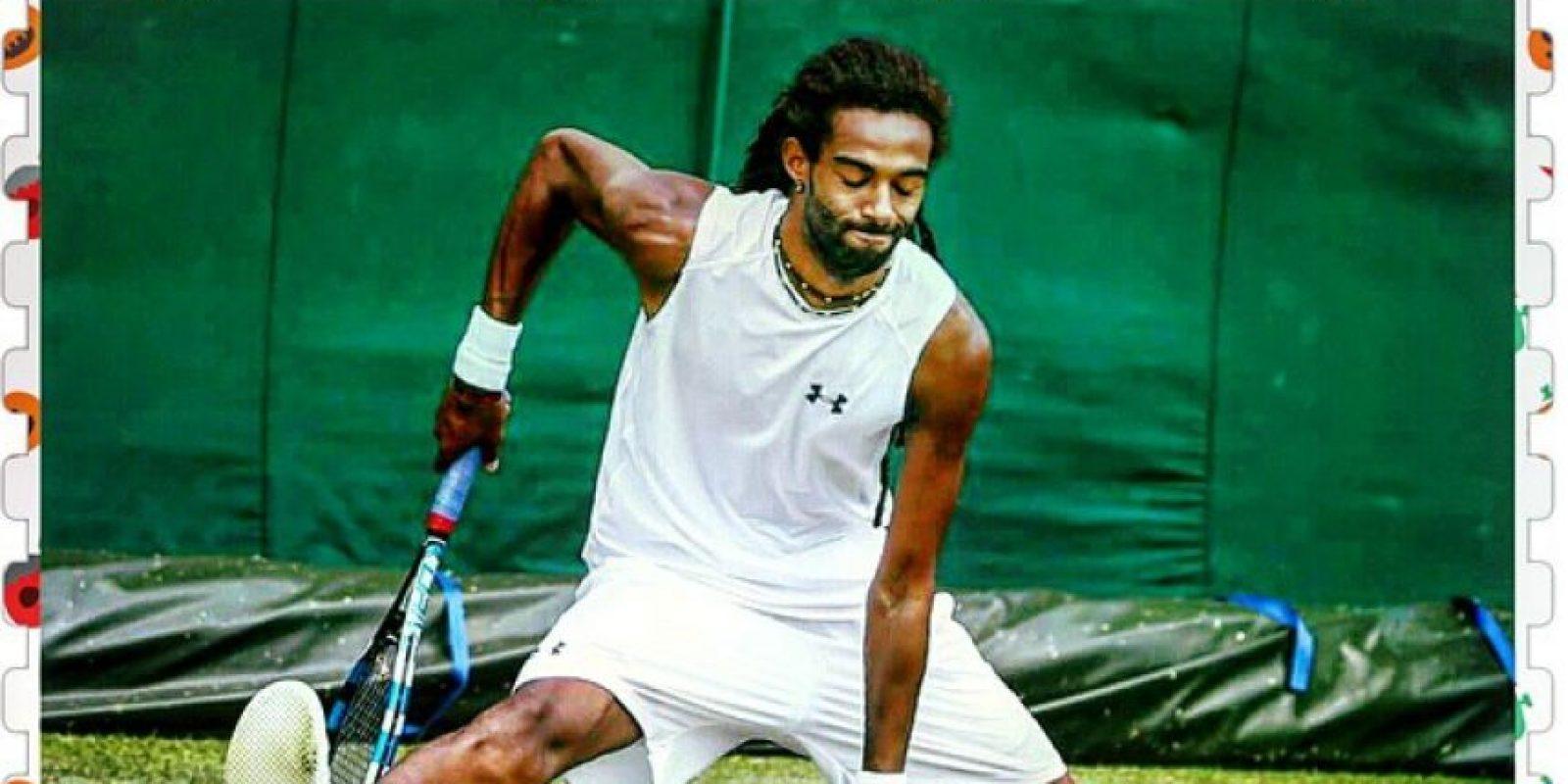 """Brown fue el último de los jugadores """"desconocidos"""" que eliminó a Nadal en Wimbledon. Foto:Vía instagram.com/dreddy_ja"""