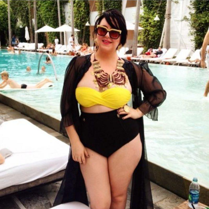 Pero hay poco diseño para las mujeres de talla grande. Foto:vía Tumblr