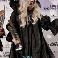 Lady Gaga, como princesilla medieval. Foto:vía Listal