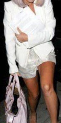 Gwen Stefani, de blanco total. Foto:vía Listal