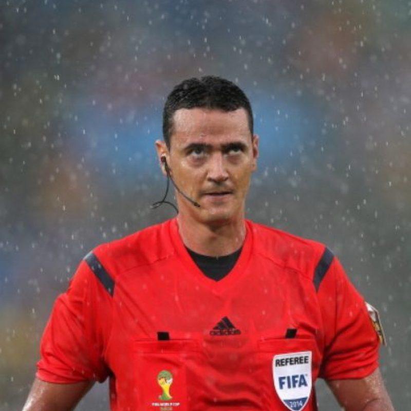Ese mismo año fue considerado como e mejor árbitro de Suramérica, con 263 puntos. Foto:vía Getty Images