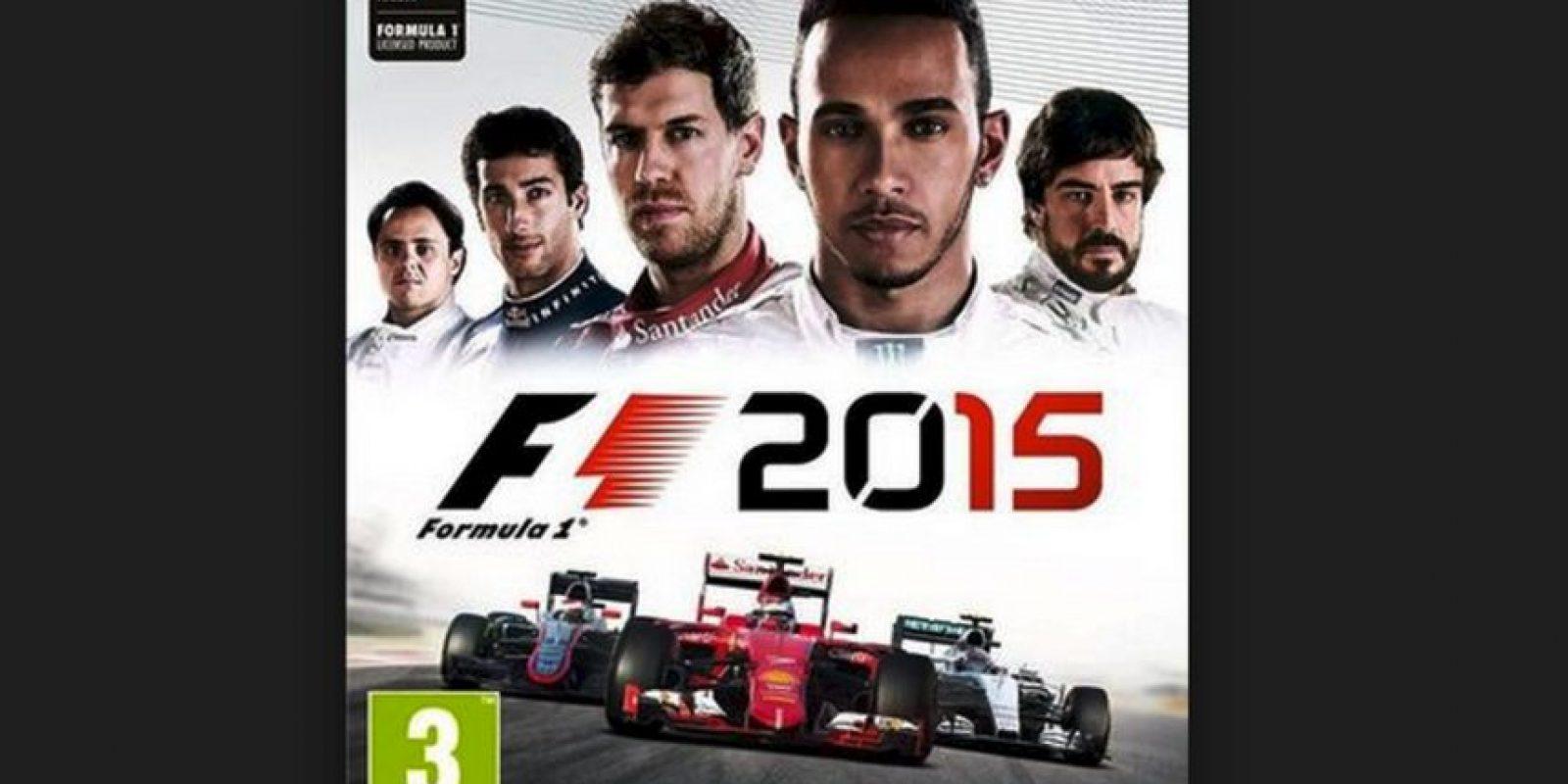"""Esta es la portada prevista para el nuevo juego """"F1 2015"""" Foto:Bandai / Namco"""