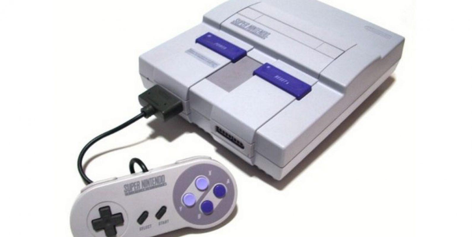 La Super NES fue una de las primeras consolas junto con Sega en revolucionar el mercado con gráficos en 2D Foto:Nintendo