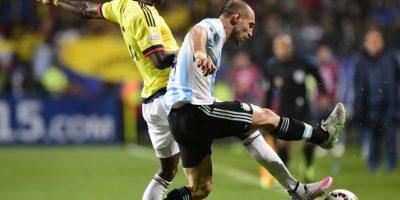 Defensa lateral derecho: Pablo Zabaleta Foto:AFP