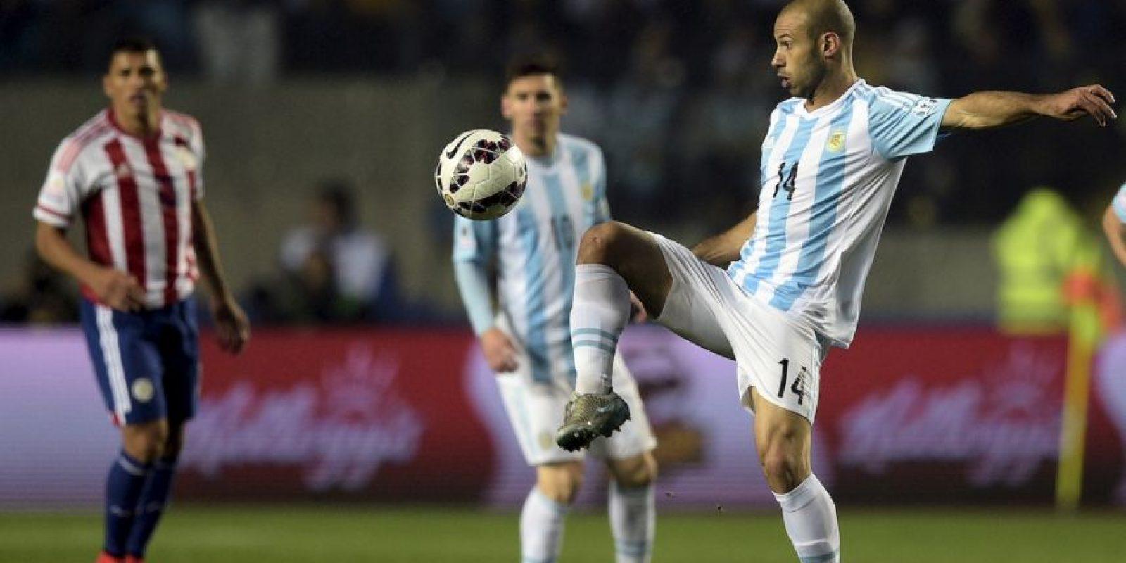 Javier Mascherano Foto:AFP