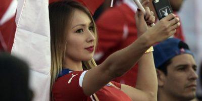 COPA AMÉRICA: Daniella Chávez y las aficionadas más guapas de la final