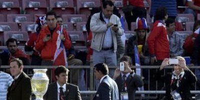 COPA AMÉRICA: El trofeo ya está en el Estadio Nacional de Chile