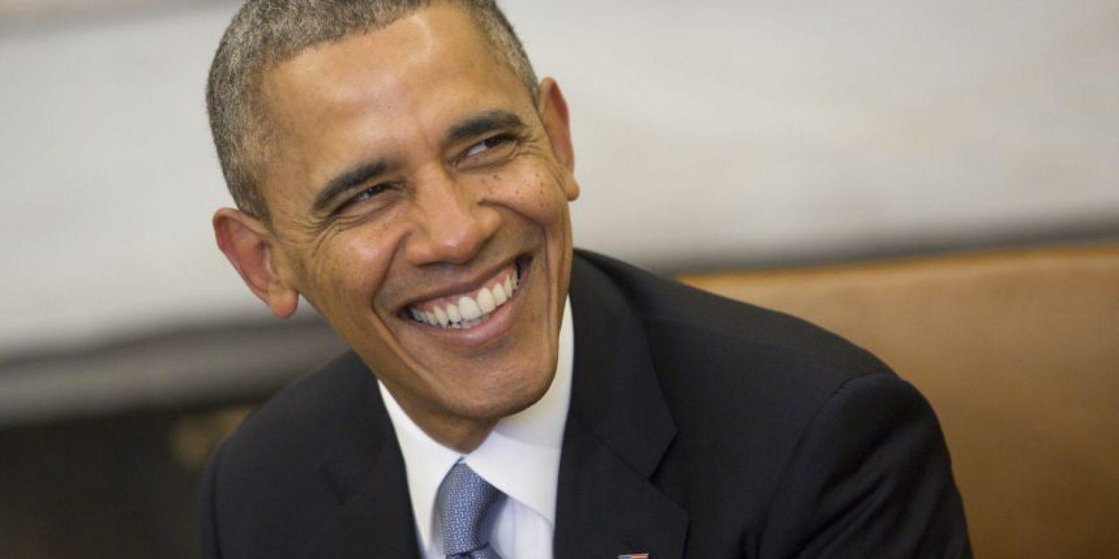 El 2 de julio en Wisconsin, el presidente Obama deseó un muy buen 4 de julio para todos los estadounidenses. Foto:Getty Images