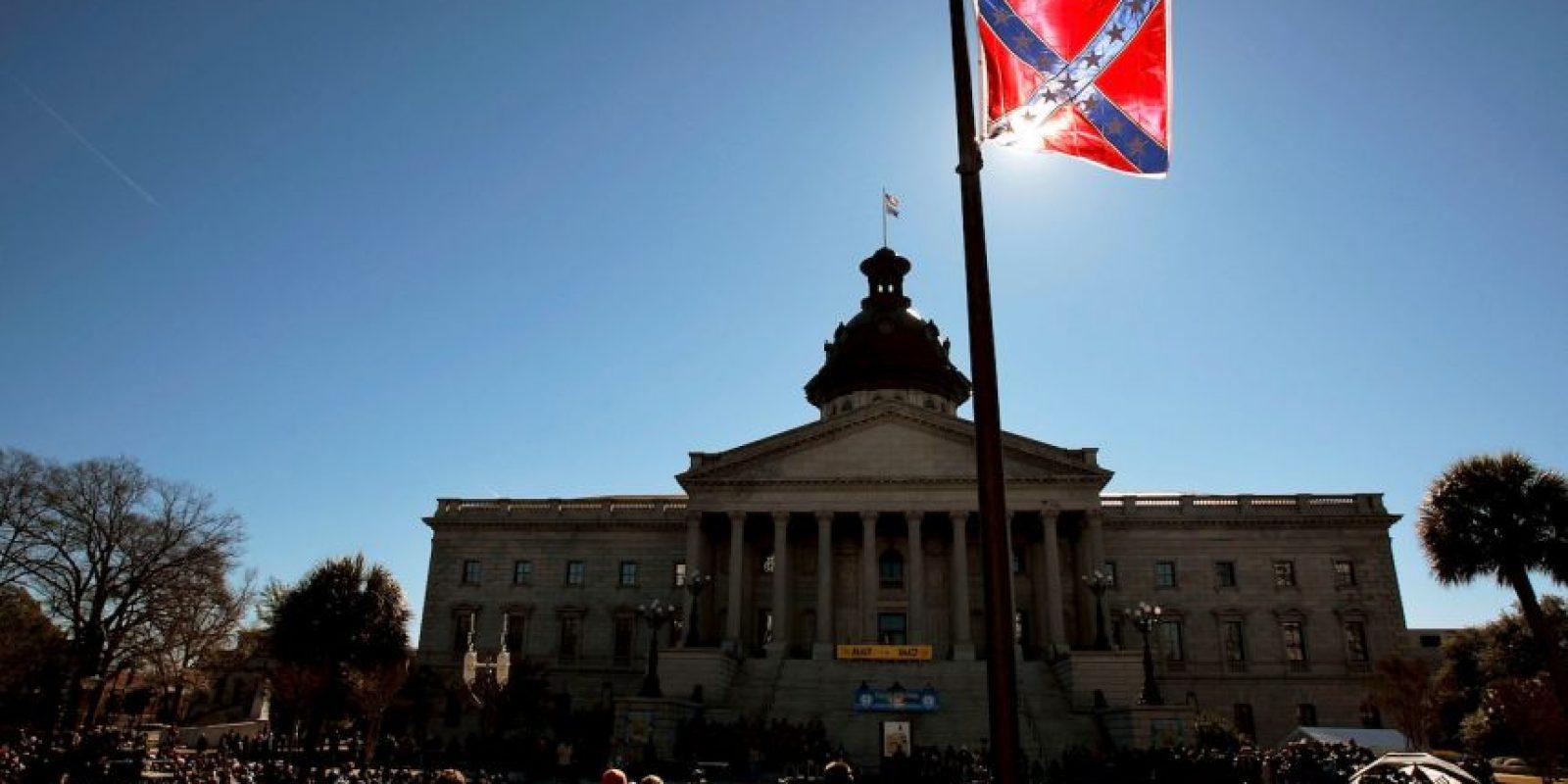 Aumenta la presión para retirar en los Estados Unidos la Bandera de la Confederación. Foto:Getty Images