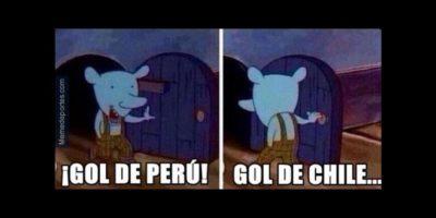 Los peruanos descontaron, pero al final cayeron en cuartos de final 2-1 ante Chile Foto:Twitter