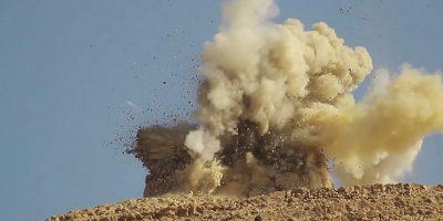 Al parecer el grupo terrorista Jaish Al-Islam, busca hacerse propaganda. Foto:AFP