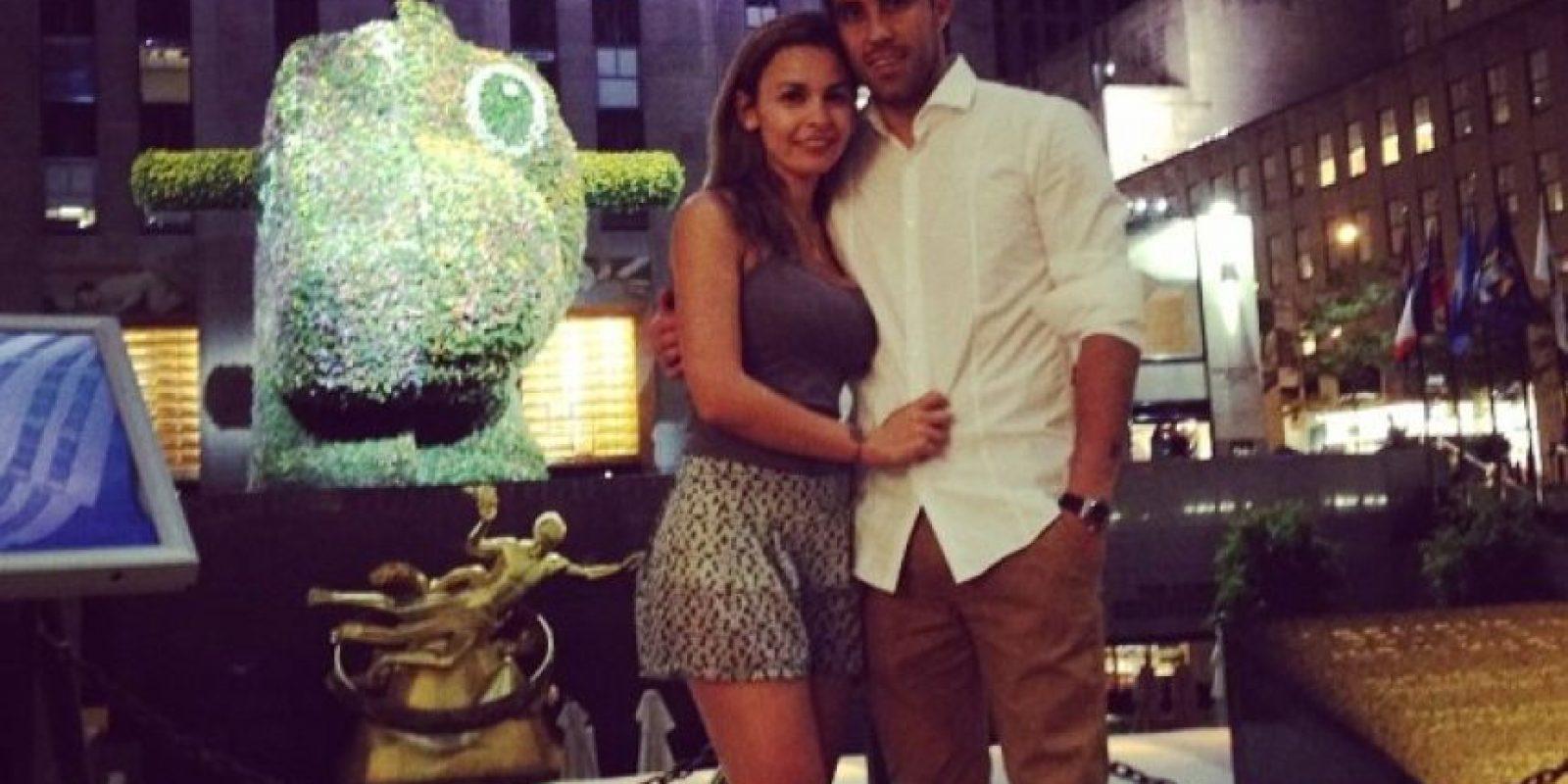 Es la esposa del portero chileno Claudio Bravo, desde 2007 Foto:Vía instagram.com/carlapardolizana