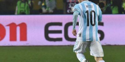 3. La escasez de títulos de Messi con Argentina Foto:AFP