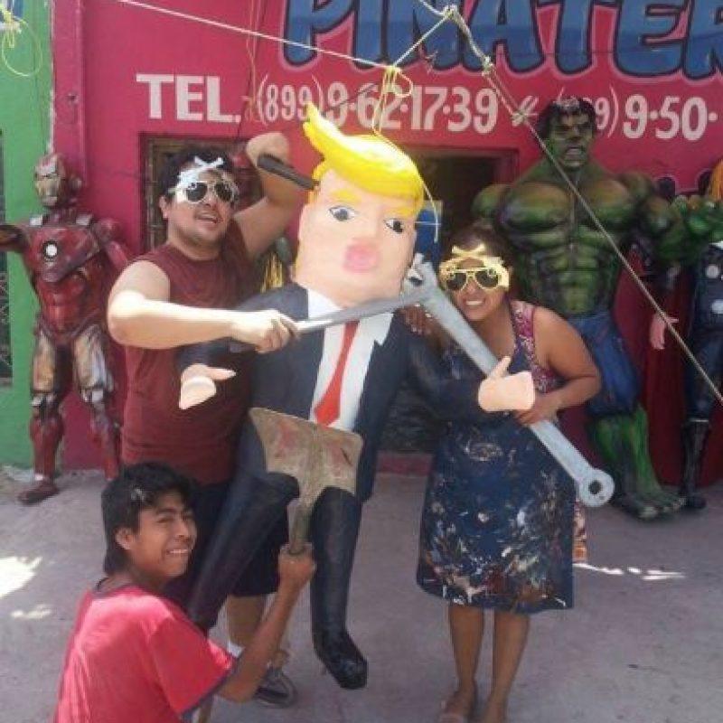 Donald Trump Foto:Vía Facebook/Piñatería Ramírez