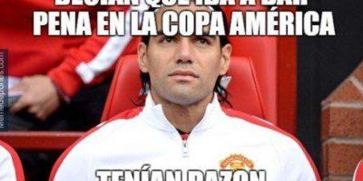Colombia y Falcao se quedaron en octavos de final y decepcionaron Foto:Twitter