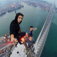 El roofing, moda de selfies extremos protagonizados en su mayoría por jóvenes, sigue dando de qué hablar. Foto:Vía Instagram @daniel__lau