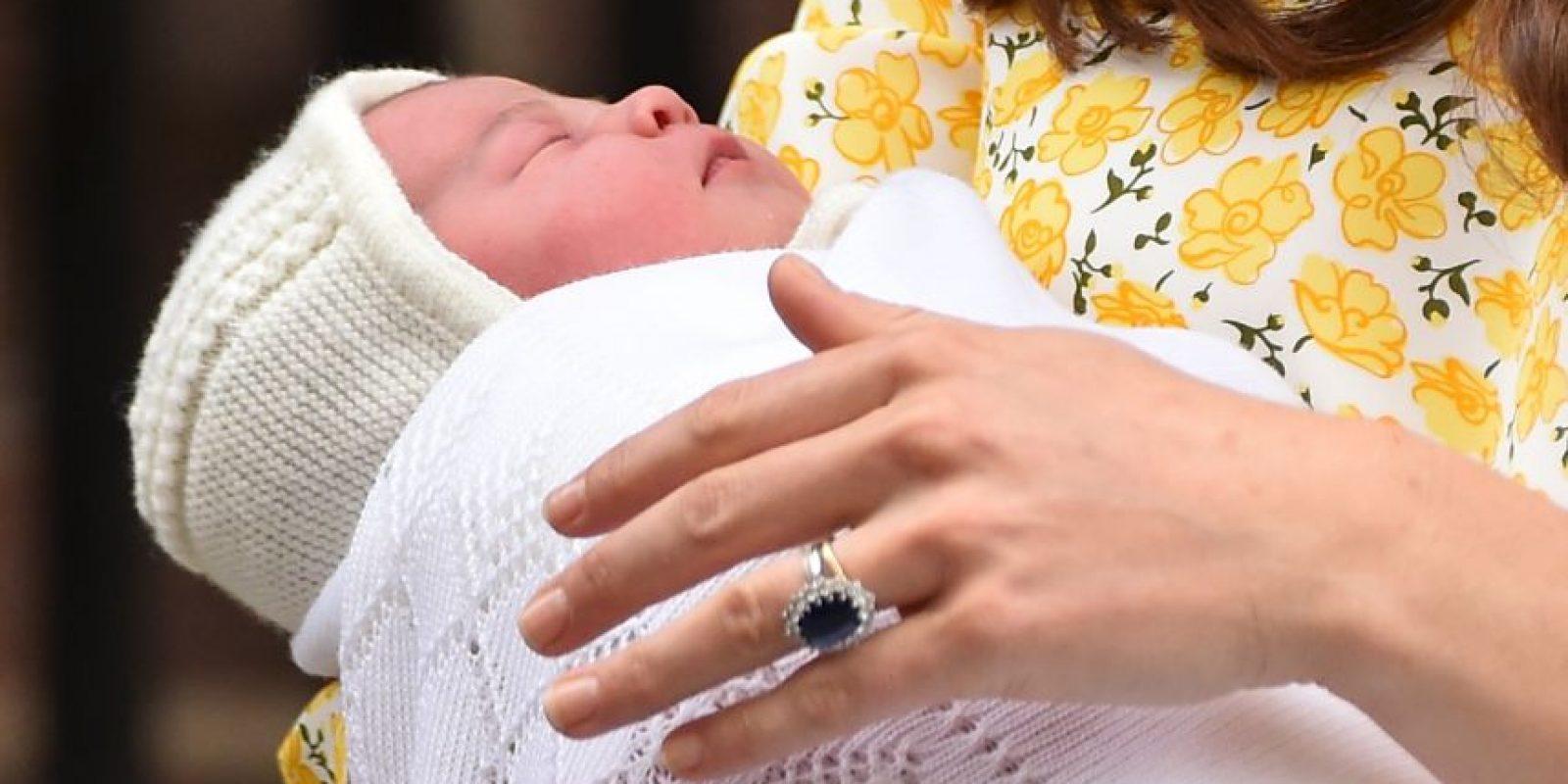 Hoy bautizaron a la princesa Charlotte hija de los duques de Cambridge. Foto:Getty Images