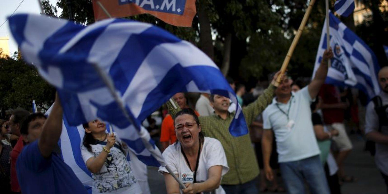 Grecia posiblemente abandonará la euro zona Foto:AP