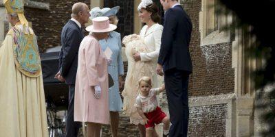 En los invitados estaba se encontraba la reina Elizabeth II Foto:AP