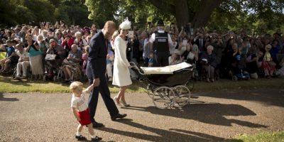 La realeza intento que la ceremonia fuera intimo. Foto:AP