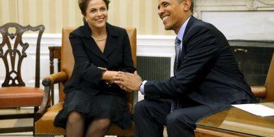 Pocos días después que ambos mandatarios se reunieran en la Casa Blanca. Foto:Getty Images