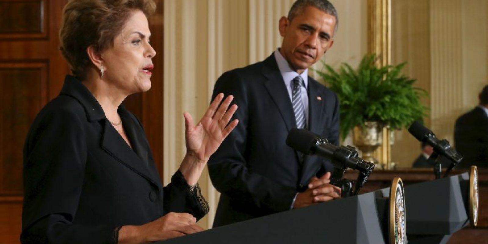Ambos mandatarios había dejado atrás el tema. Foto:Getty Images