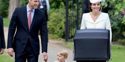 Esta fue la primera vez que la familia completa aparecio en público. Foto:Getty Images