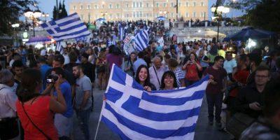La gente ha salido a las calles a celebrar. Foto:Getty Images