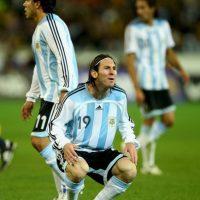 Copa América 2007. El 15 de julio Argentina cayó 3-0 ante Brasil en la final del certamen disputado en Venezuela. Foto:Getty Images