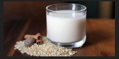 10. Leche de arroz. LO QUE SE DICE: Leche con menos calorías que aporta los mismos beneficios que la leche. Foto:Pixabay