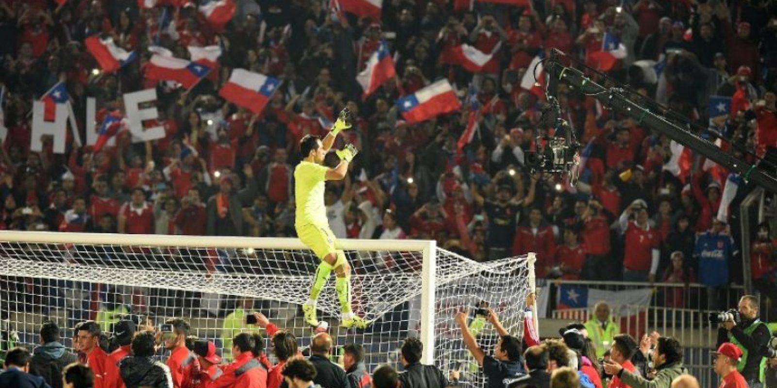 1. El título de Chile Foto:AFP