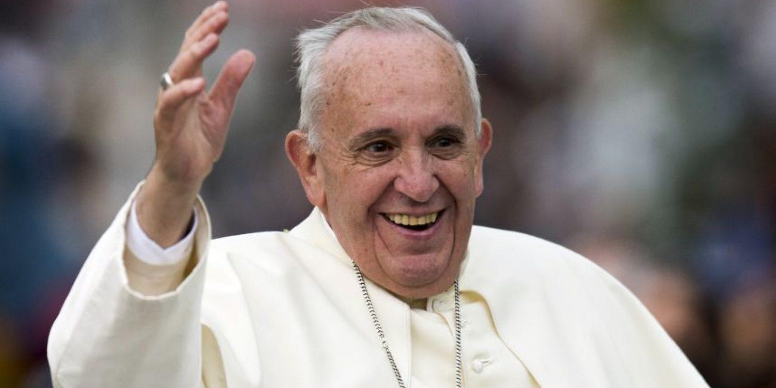 El papa Francisco llegó a Ecuador, como primer destino en su gira por Latinoámerica. Foto:AFP