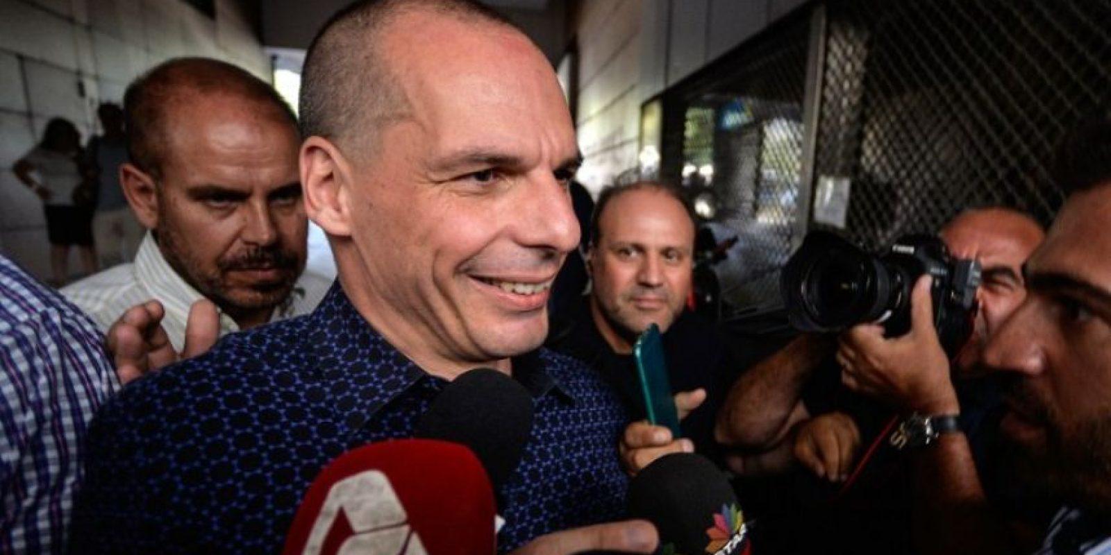 """""""Considero que es mi deber ayudar a a Alexis Tsipras a explotar el capital que el pueblo griego nos concedió a través del referéndum de ayer. Y llevaré con orgullo el odio de los acreedores"""", expresó en su sitio web Foto:AFP"""