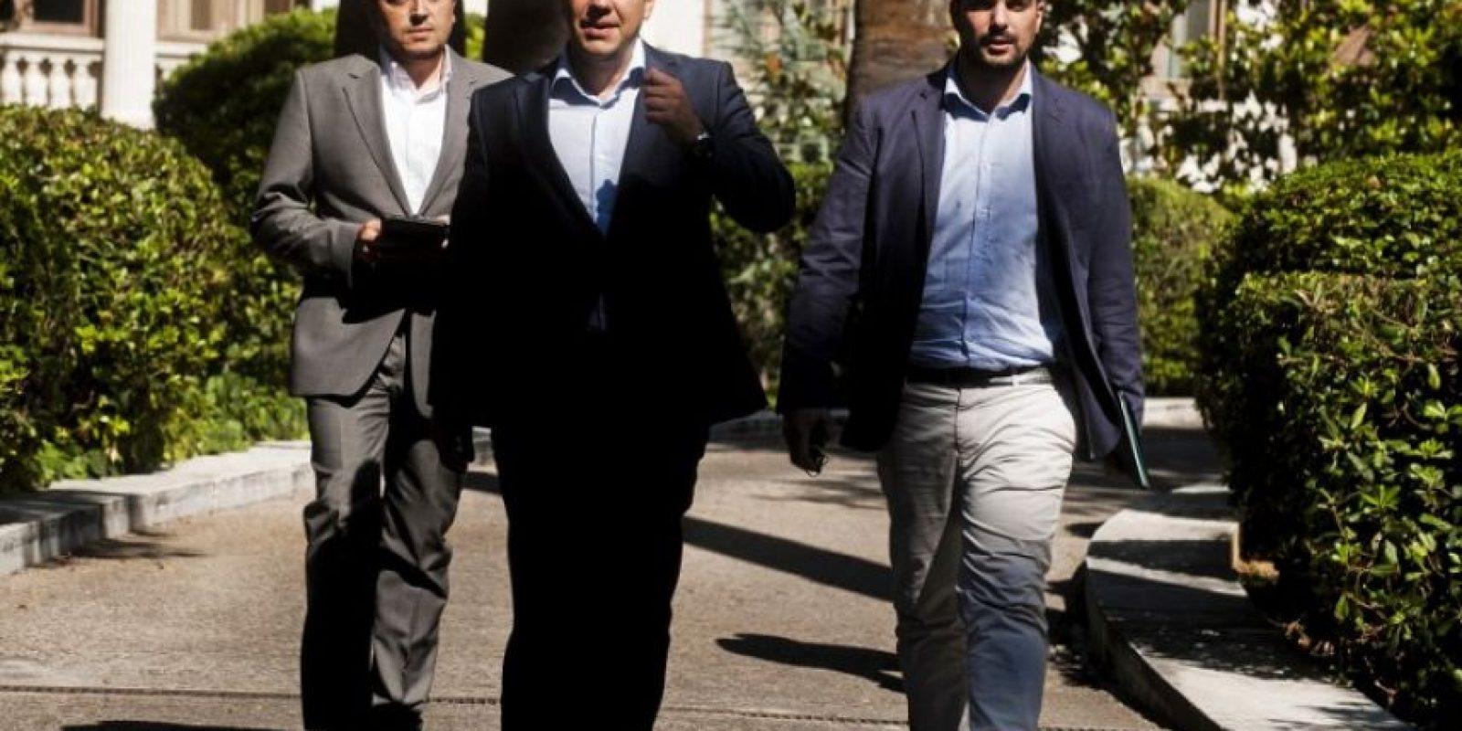 Alexis Tsipras, el gran ganador en el referendo Foto:AFP