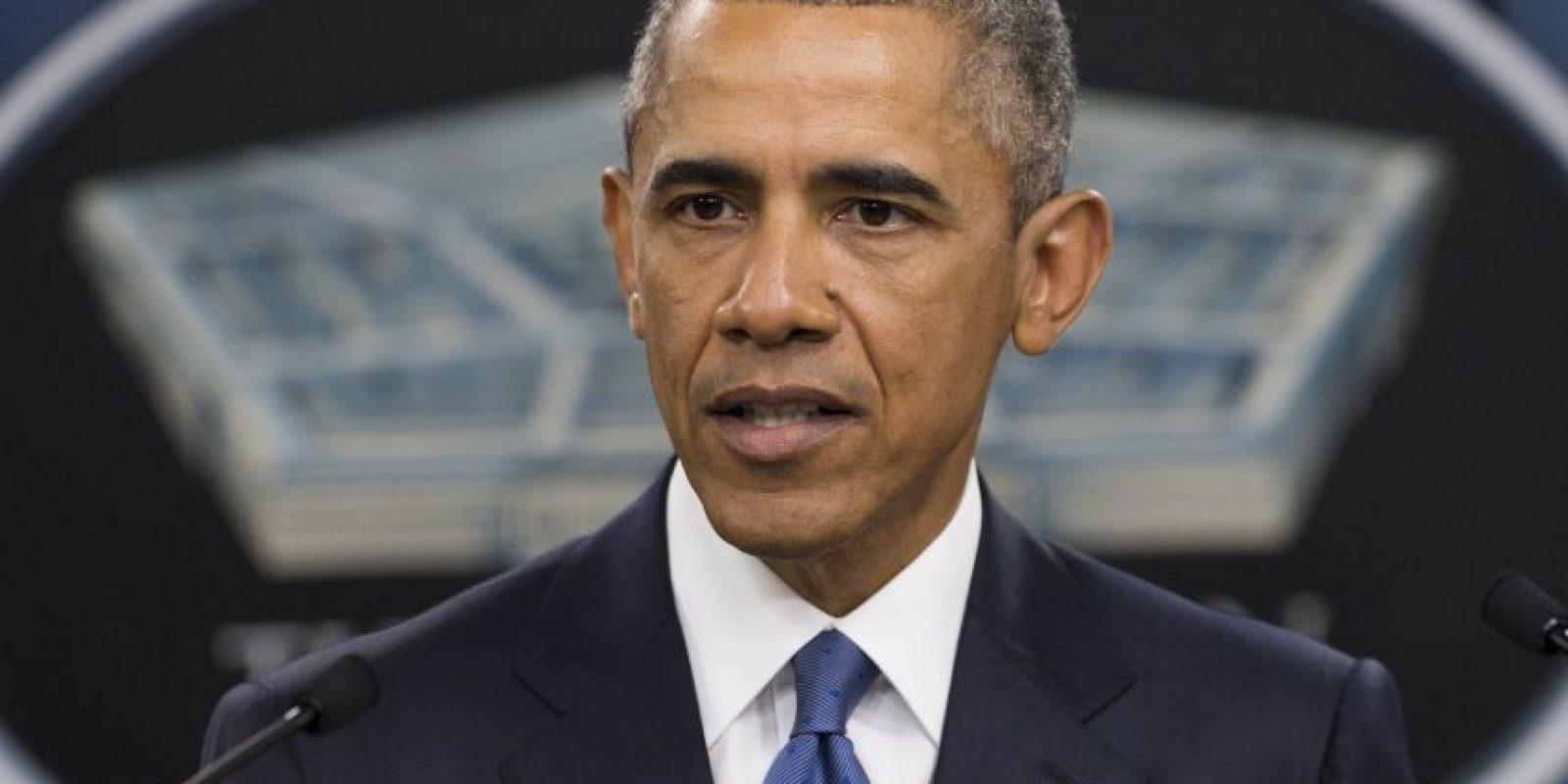 Obama habló sobre la guerra contra el Estado Islámico Foto:AFP