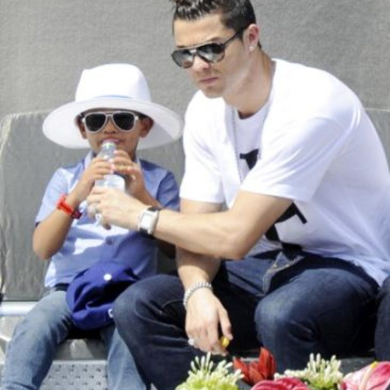 Cristiano Jr nació en junio de 2010. Foto:Getty Images