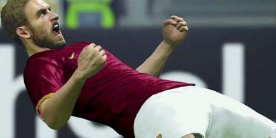 El italiano Daniele de Rossi gritando en el campo de juego. Foto:Konami