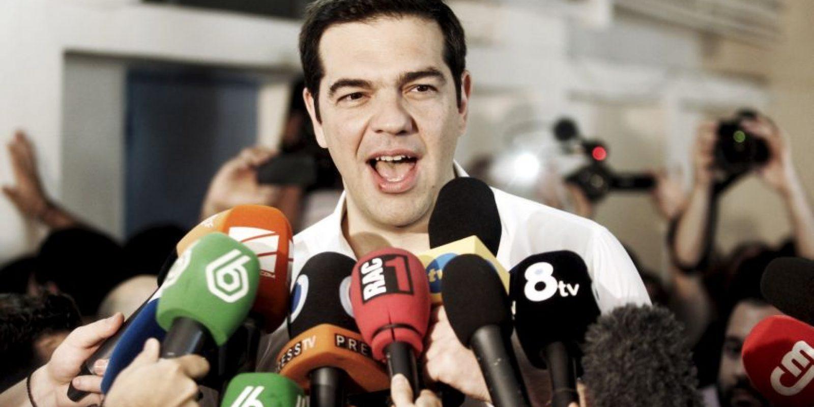 Alexis Tsipras, ha comenzado ya a contactar con dirigentes europeos. Foto:Getty Images