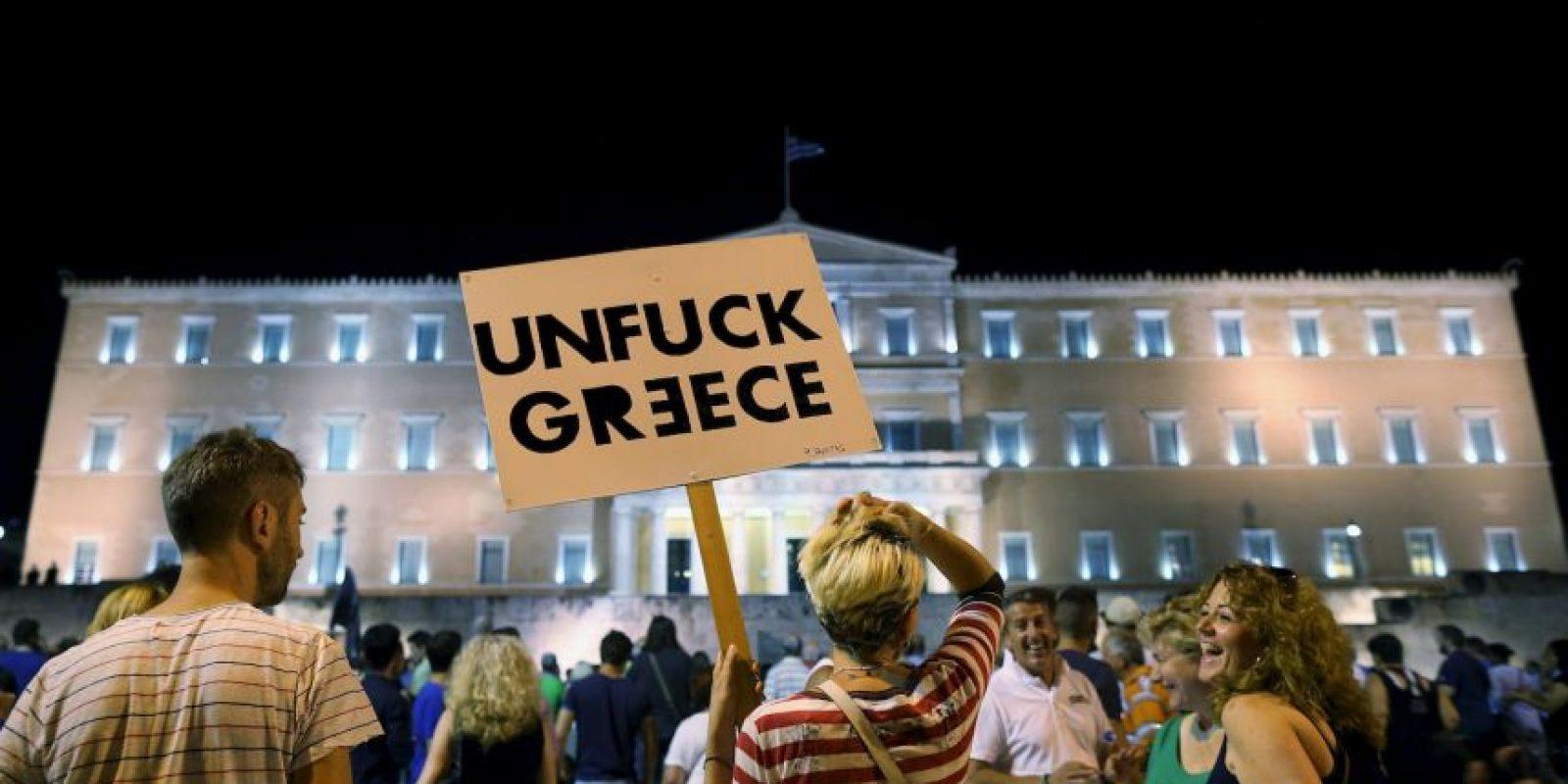 Además de que existe la posibilidad de que Grecia salga de la eurozona. Foto:Getty Images