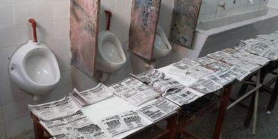 Así elegían sus boletas los votantes de Argentina. Foto:Vía Twitter @jguille_1