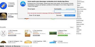 En redes sociales señalaron problemas para loguearse con su cuenta de correo electrónico Foto:Apple